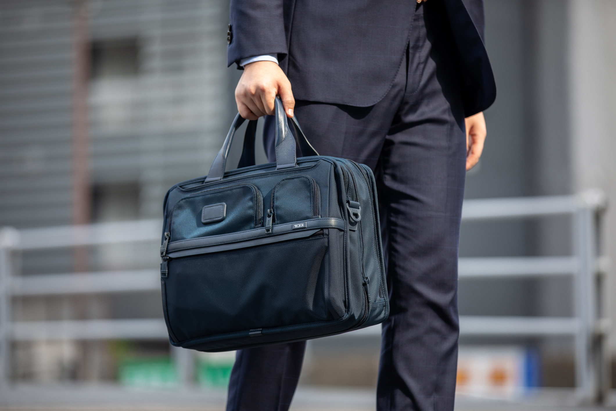 TUMI Expandable Laptop Brief