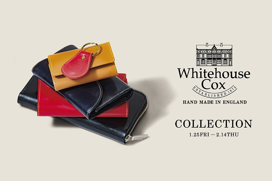 free shipping e2a90 7ac0a 長く大事に慈しめるものを選ぶ。「Whitehouse Cox COLLECTION」