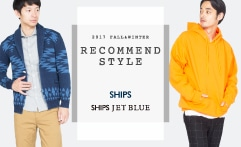 2017Fall RECOMMEND STYLE - SHIPS / SHIPS JET BLUE